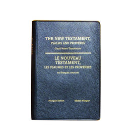 Société Biblique / Bible Society The New Testament, Psalms and Proverbs - Bilingual edition