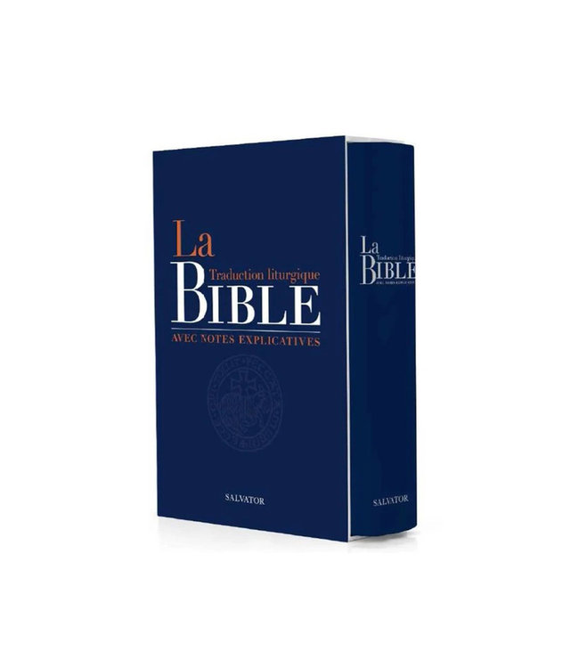 Salvator La Bible liturgique avec note explicative (french)