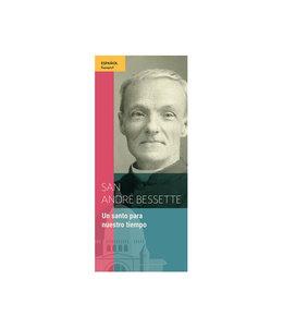 L'Oratoire Saint-Joseph du Mont-Royal Dépliant San Andre Bessette (espagnol)