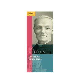 L'Oratoire Saint-Joseph du Mont-Royal Pamphlet San Andre Bessette (spanish)