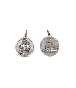 Médaille saint Joseph-étain
