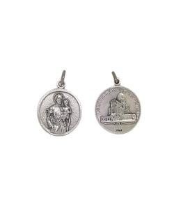 Medal of Saint Joseph-pewter