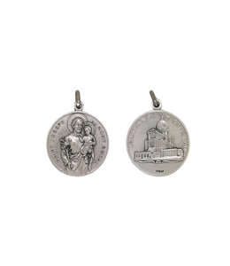 Large Saint Joseph and Oratory medal (30mm)
