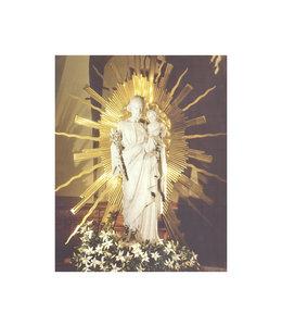 Affiche saint Joseph de la Crypte (8x10'')