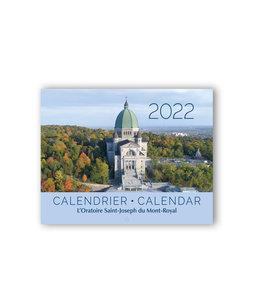 L'Oratoire Saint-Joseph du Mont-Royal Calendrier 2022 de l'Oratoire Saint-Joseph du Mont-Royal