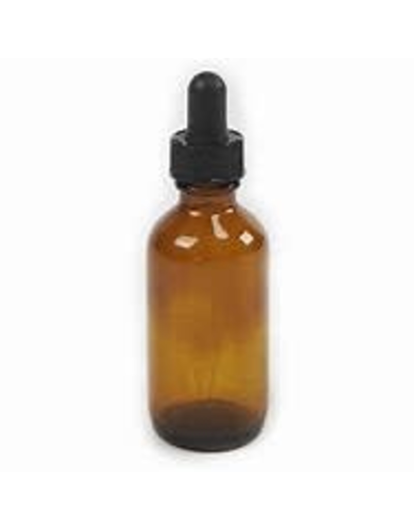 2 oz Amber Bottle With Dropper