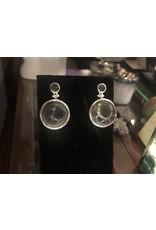Sanchi and Filia P Designs Septarian & Smoky Quartz Earrings