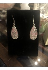 Sanchi and Filia P Designs Rough Eudialyte Earrings
