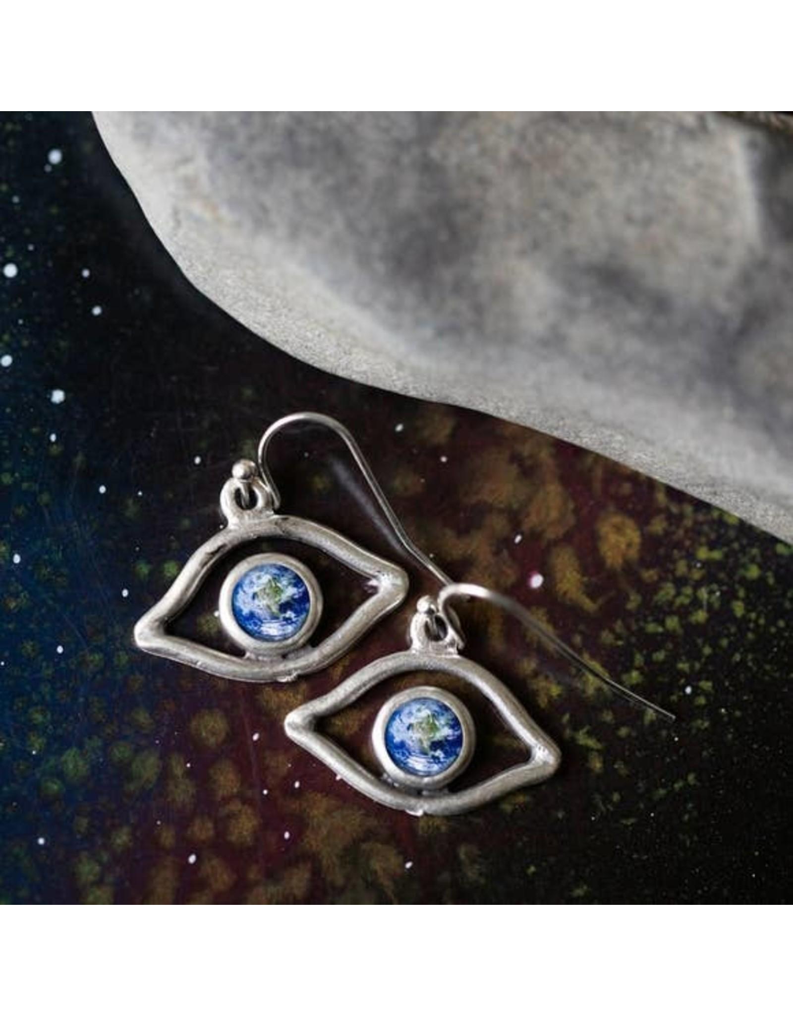 Yugen Tribe - Eye of God Galaxy Earrings