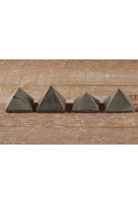 "1"" Pyrite Pyramid"