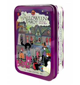 The Halloween Tarot In a Tin