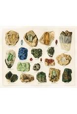 "Capricorn Press Capricorn Press - Antique Minerals #5 - 8.5""x11"""