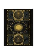 "Capricorn Press Capricorn Press - Gold Zodiac - 8.5""x11"""