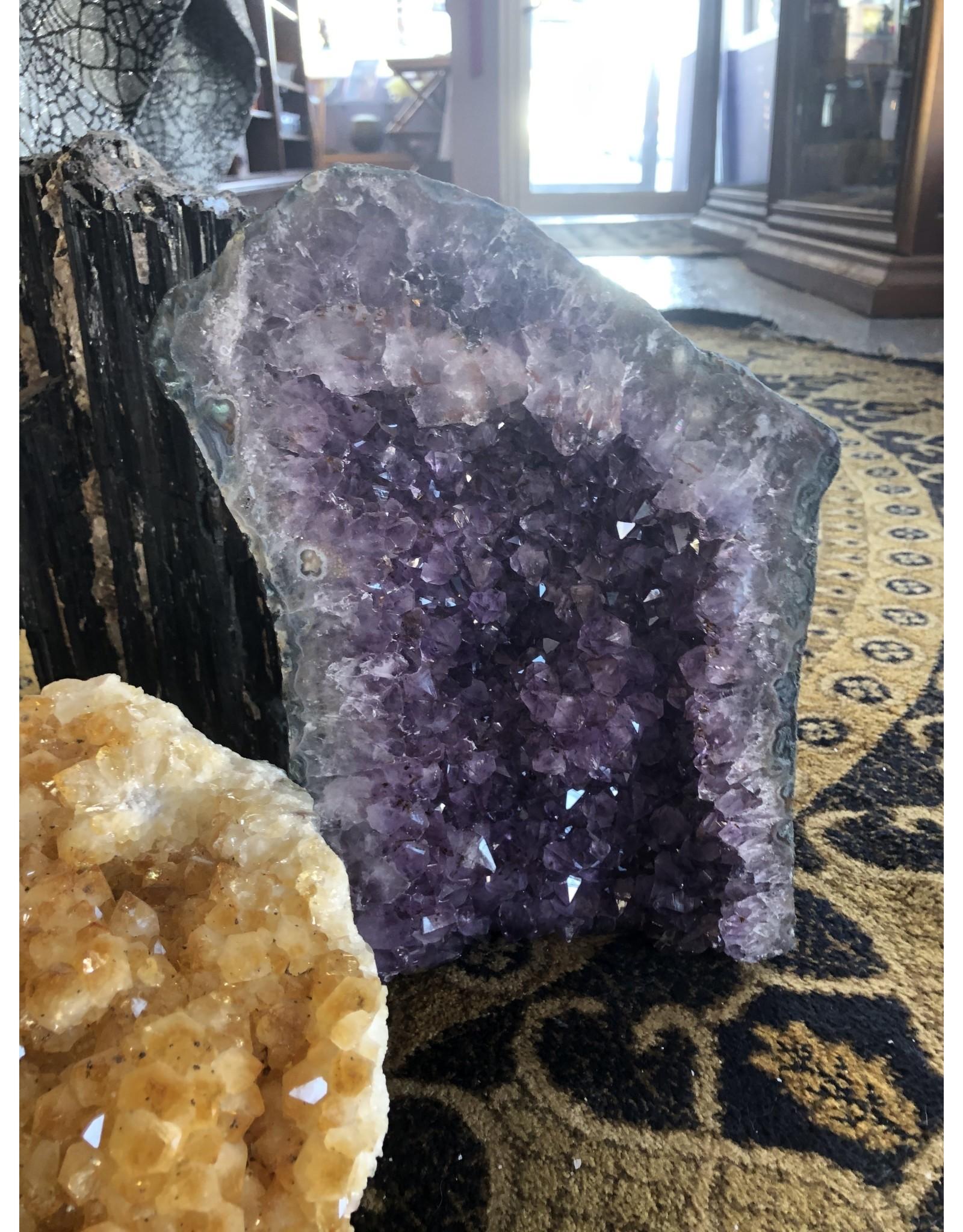 Amethyst Geode Table Piece