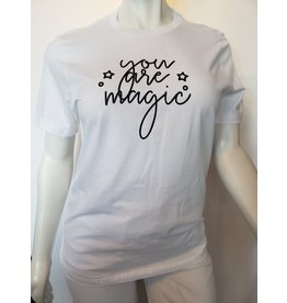 Spikes and Seams You Are Magic Tee - White