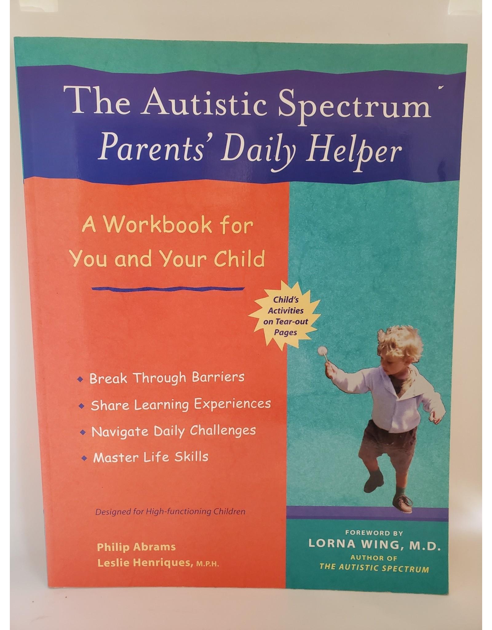 The Autistic Spectrum Parent's Diary
