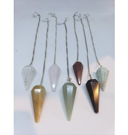 Assorted Stone Pendulums
