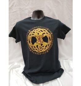 Gaelic Roots T Shirt Black