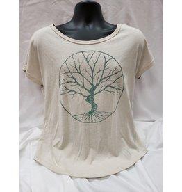 Soul Flower - Peaceful Tree Slouch Top