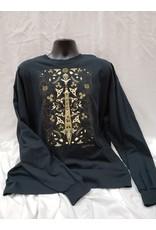 Warrior T-shirt Black Long Sleeve