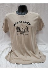 Spikes and Seams Plant Lady Tee - Sand
