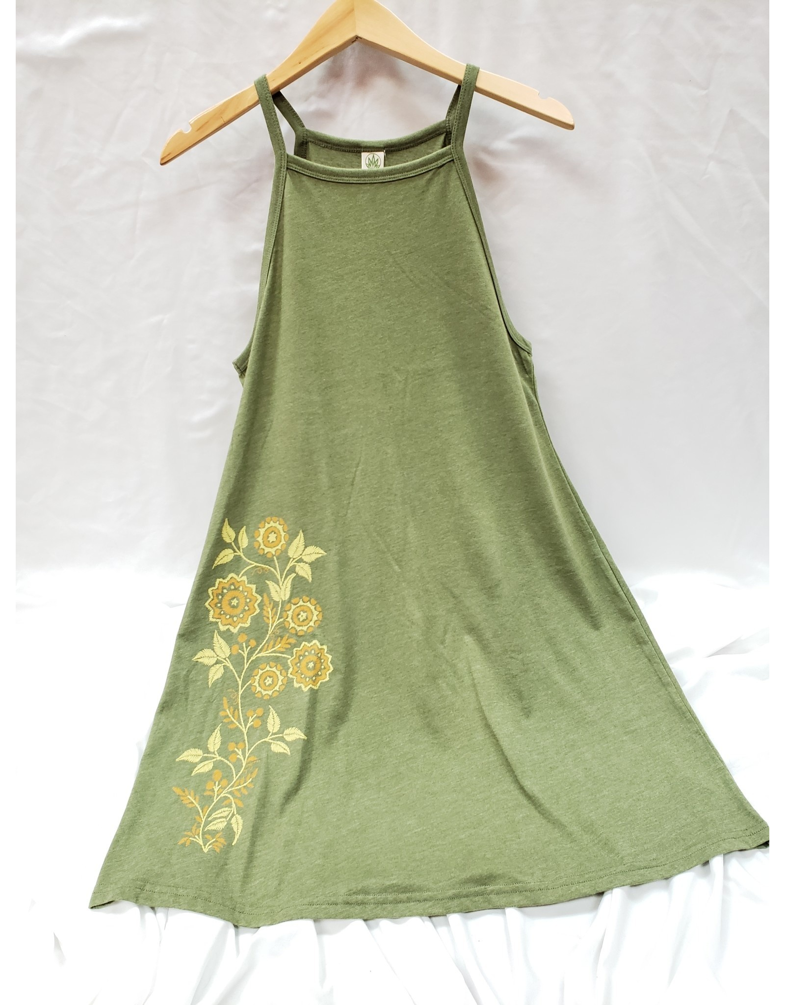Soul Flower - Retro Flowers Tank Dress