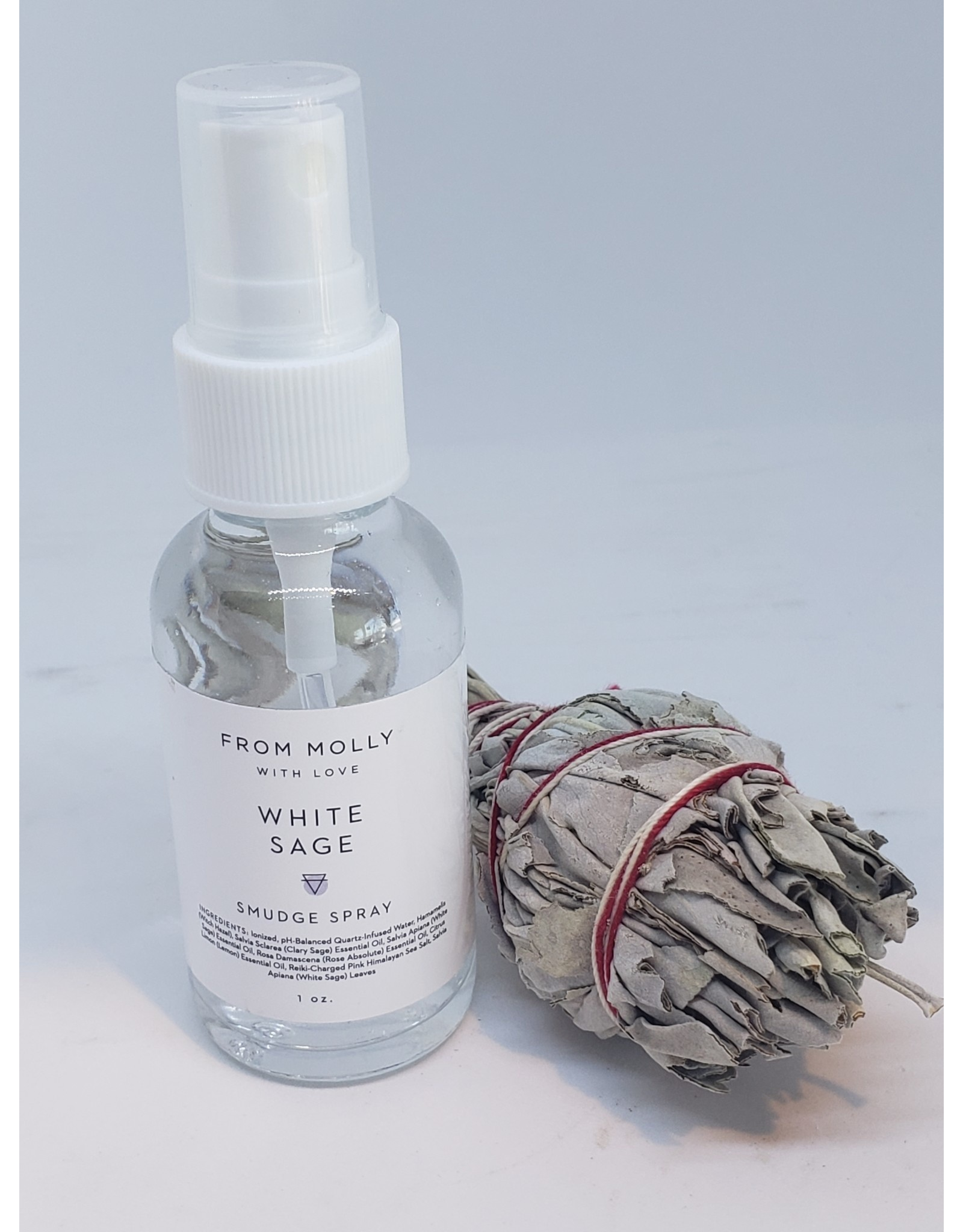 White Sage Smudge Spray 1 oz.