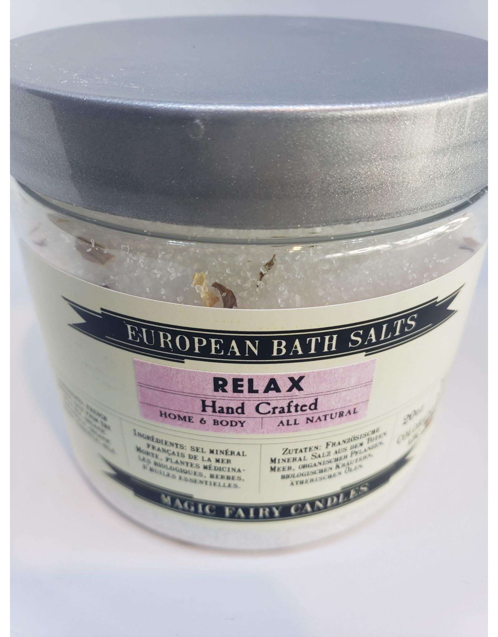 Relax Bath Salt - 16oz