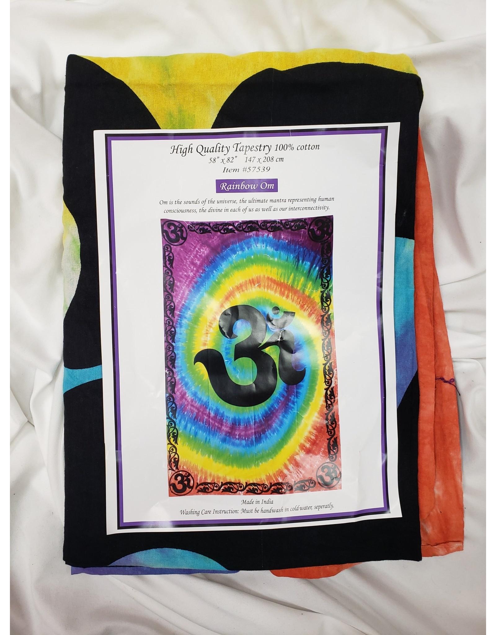 Altar Cloth - Rainbow - OM