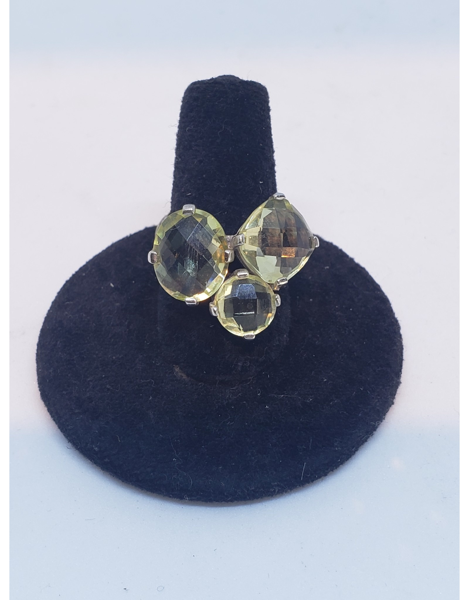 Sanchi and Filia P Designs Lemon Quartz Ring