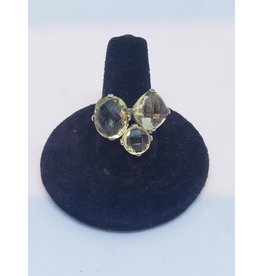 Sanchi and Filia P Designs Lemon Quartz Ring
