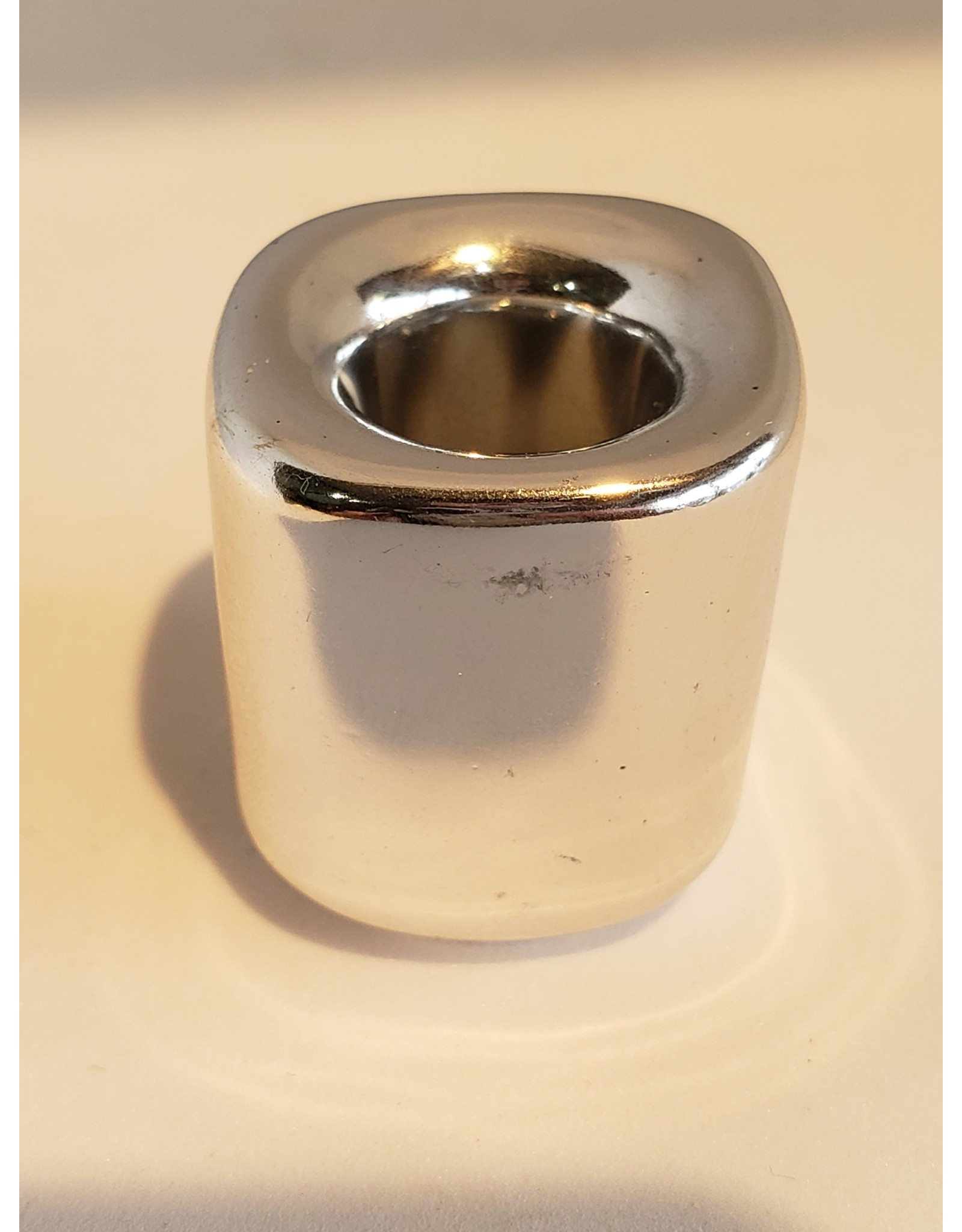 Mini Candle Holder Silver