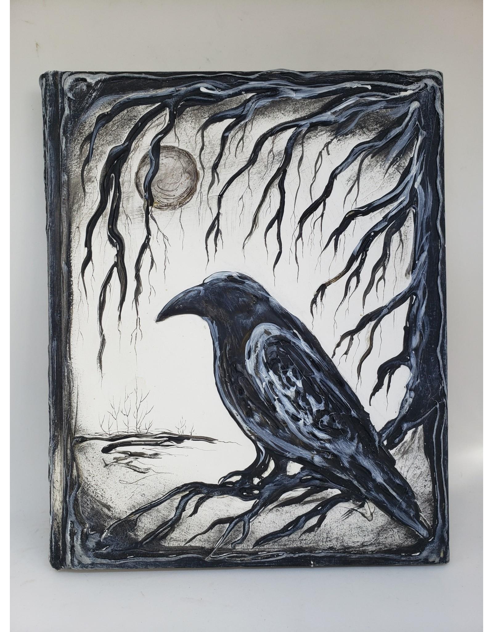 Hardbound Raven Journal