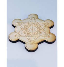Zen and Meow Metatron's Cube Crystal Grid