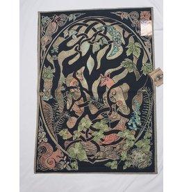 Woodland Fox Fine Art Tapestry