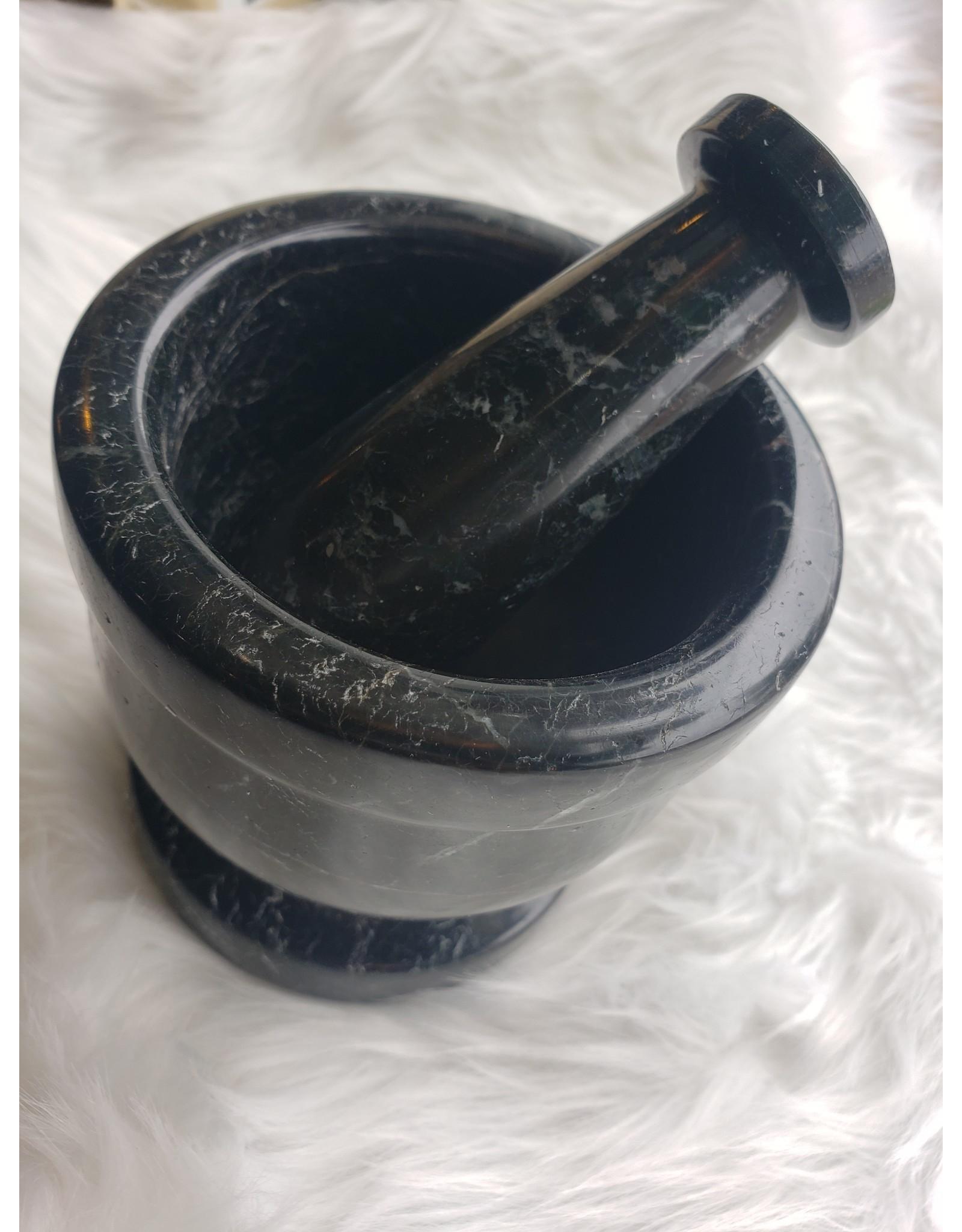 Assorted Mortar & Pestle - Soapstone - Natural