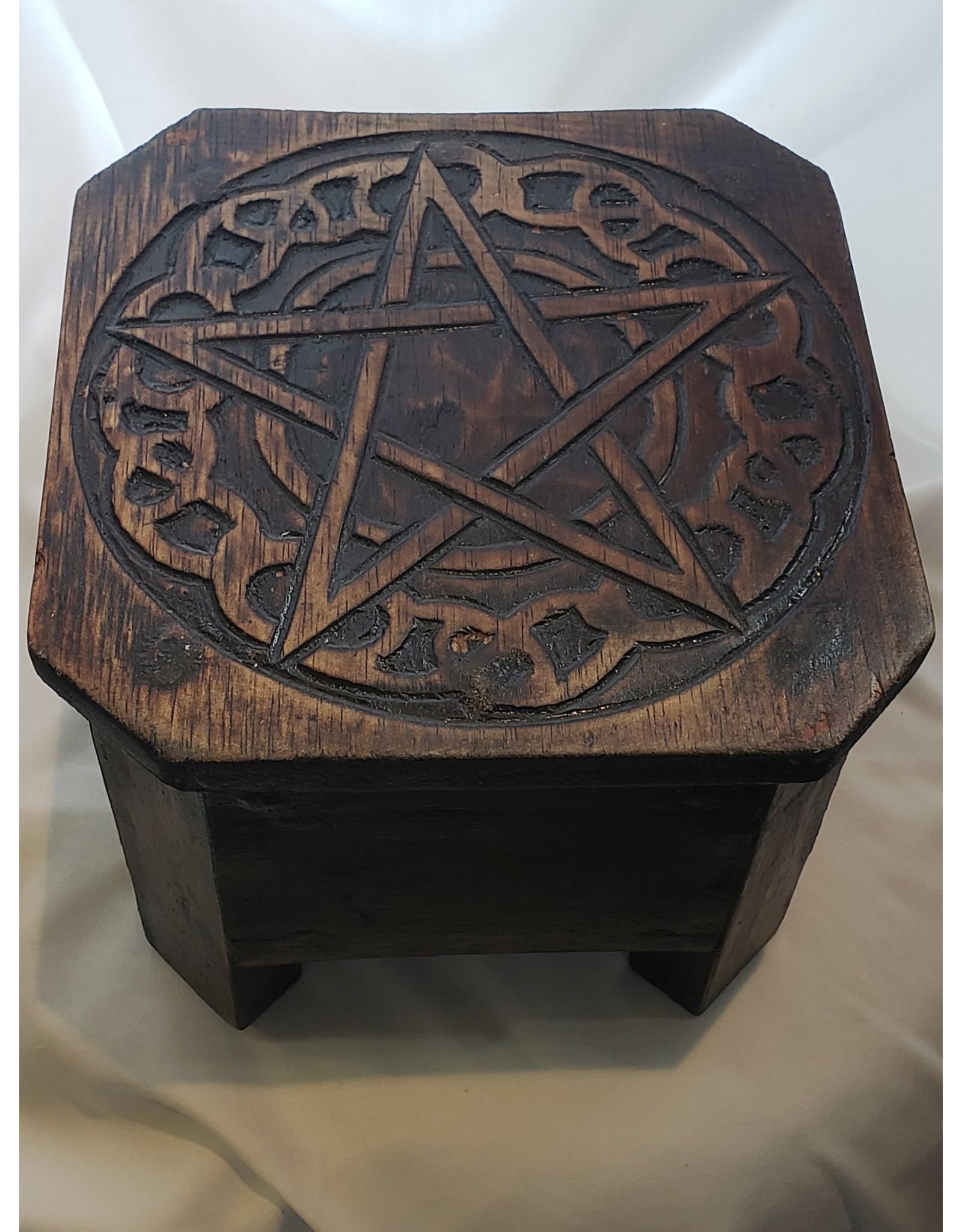 Celtic Pentacle Altar Table