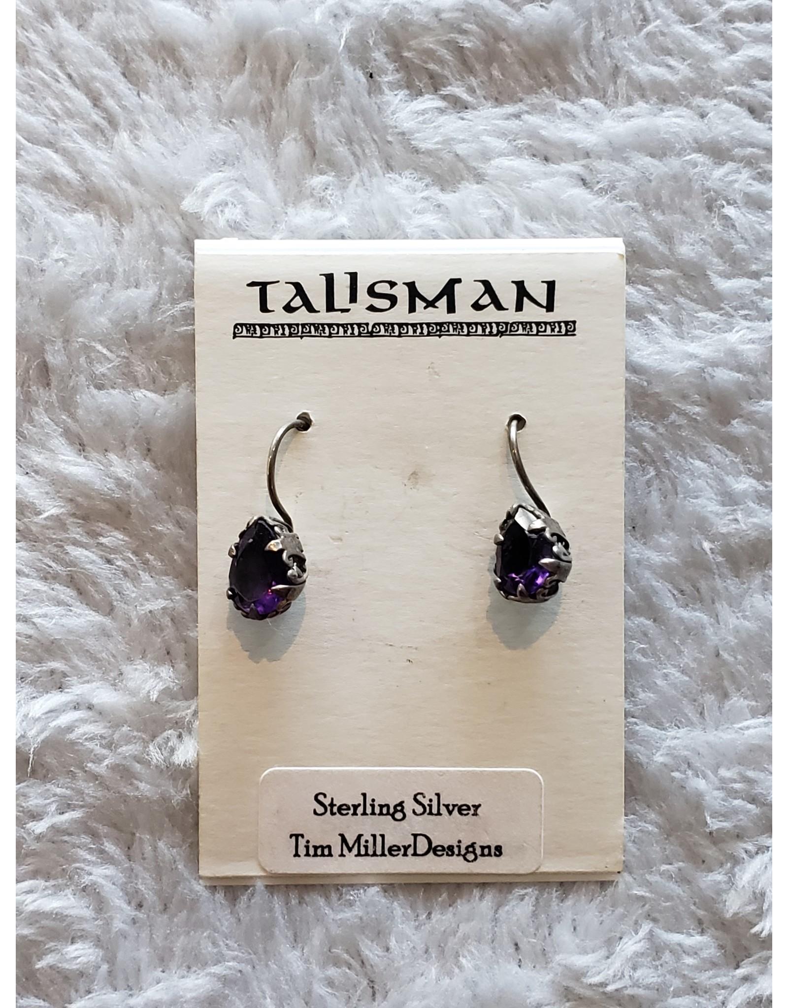 Amethyst Teardrops Earrings