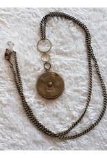 Dani Awesome Calendar Dial Bronze Necklace