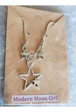 Angel Vaughan Star Necklace & Earrings