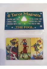 The Fool 6 Tarot Magnets