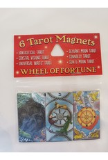 Wheel of Fortune 6 Tarot Magnets