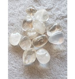 Clear Quartz - Tumbled, Large