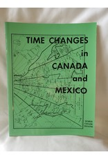 Time Changes In Canada And Mexico by Doris Chance Doane