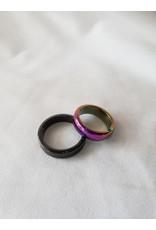 Hematite Round Ring