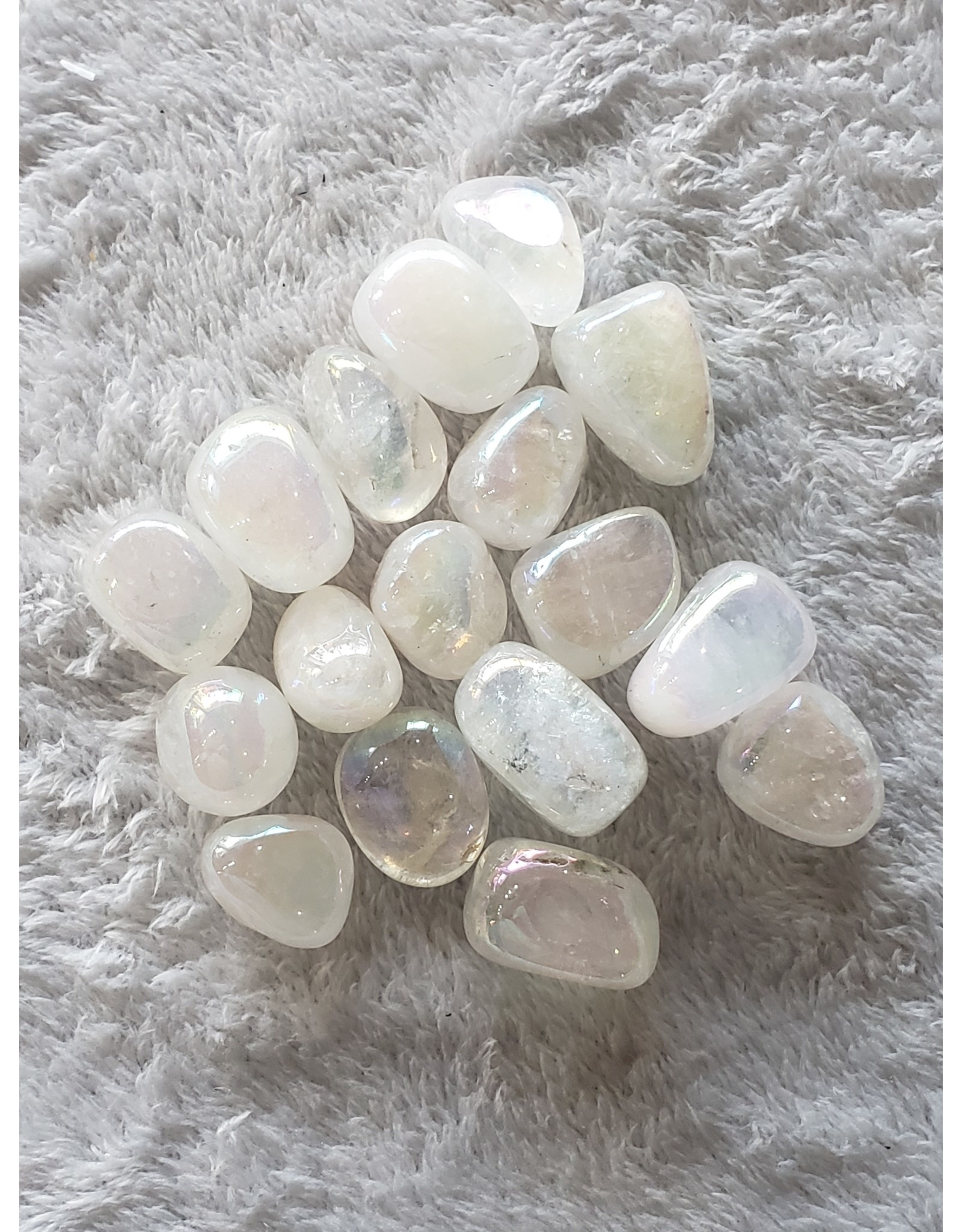 Angel Aura Quartz, Tumbled