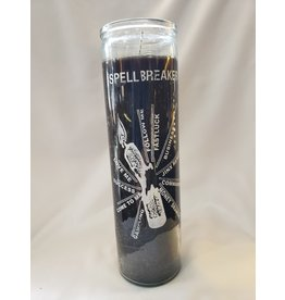 Spell Breaker 7 Day Candle - Black