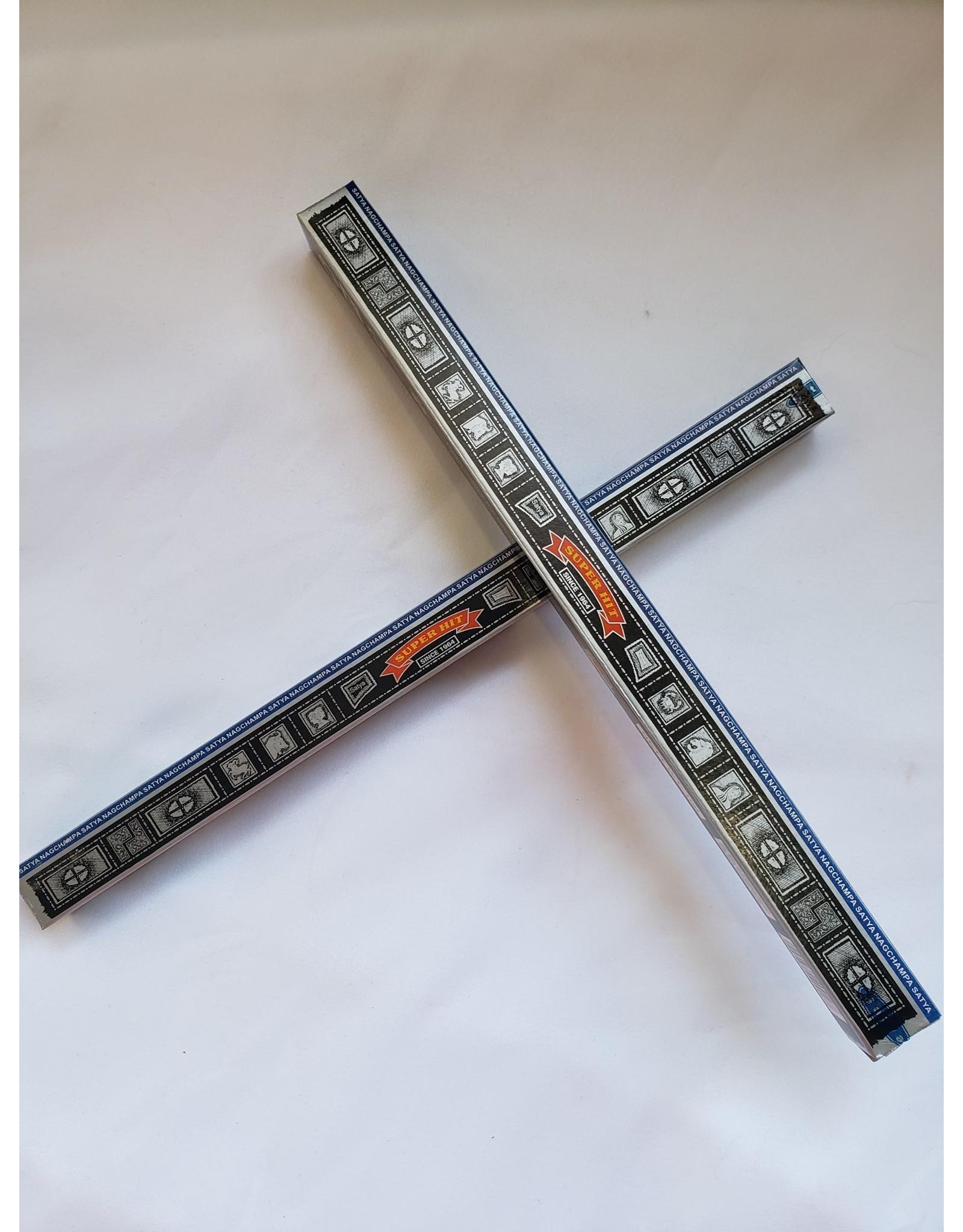 Satya Satya    Super Hit Incense Sticks   10g.