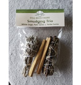 Full Moons Farms Smudging Trio w/ Yerba Santa