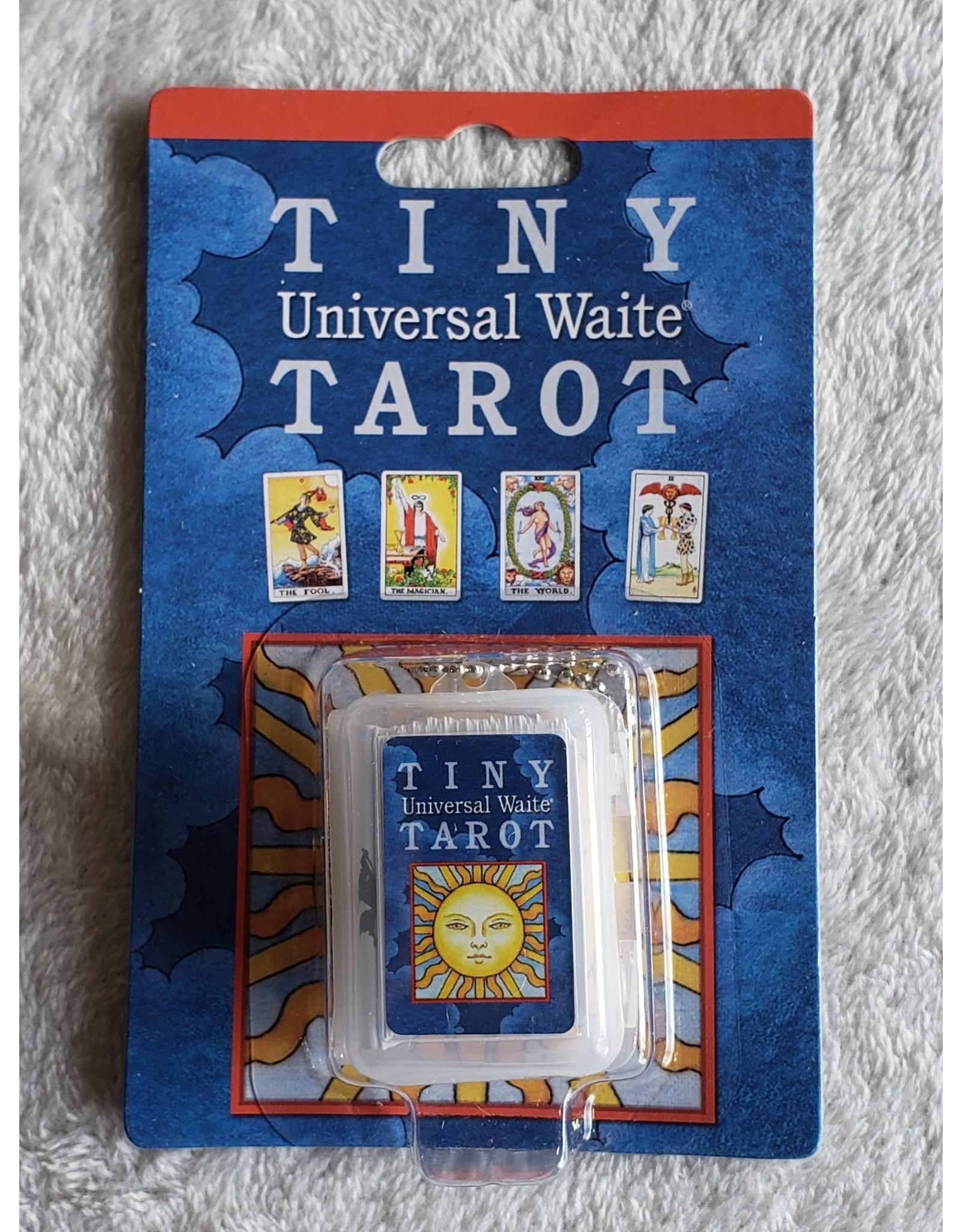 Tiny Universal Waite Tarot Keychain